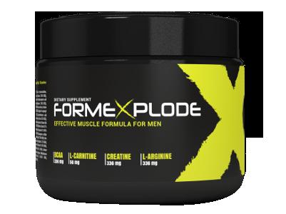 Formexplode recenze, účinky, kde koupit, cenu, prodejna, lékárna