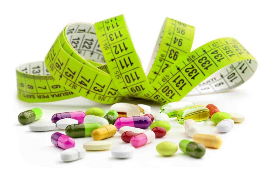 Clasificación de las pastillas adelgazantes