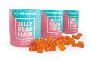 JELLY BEAR HAIR biotin tablets for hair