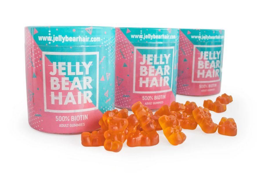 JELLY BEAR HAIR biotin tablets for hair