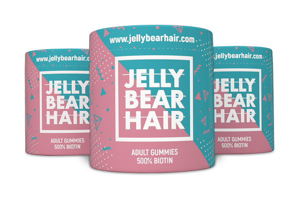 jelly bear hair
